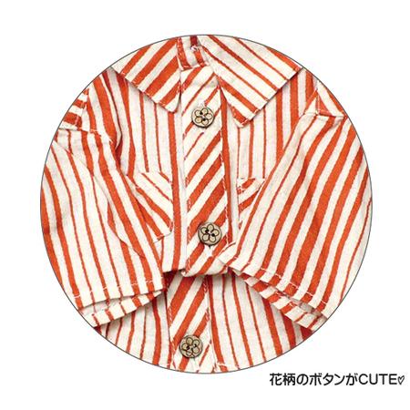 C/Lガーゼストライプシャツ(SAD20450-30) 30%オフ