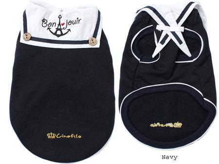 イカリ刺繍セーラー