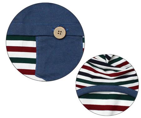 国旗配色ボーダーTシャツ(SAD20380-3) 30%オフ