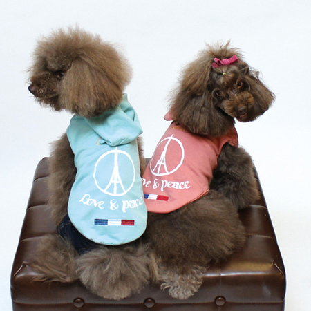 LOVE&PEACE PT&刺繍パーカー(SAD20390-8) 50%off