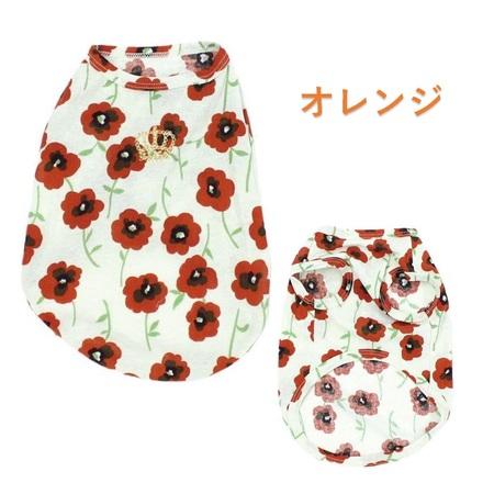 COOL花柄プリントTシャツ