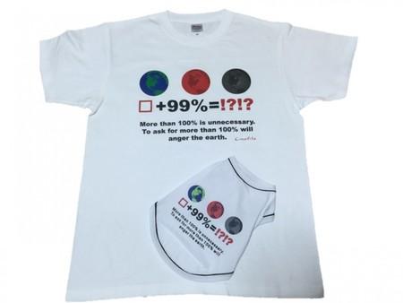 アースプリントTシャツ(人用)SAD20390-44
