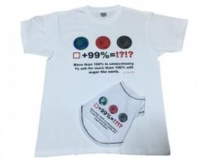 アースプリントTシャツ(人用)SAD20390-44 30%オフ