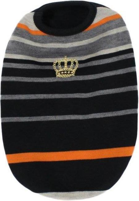 パネルボーダー王冠Tシャツ